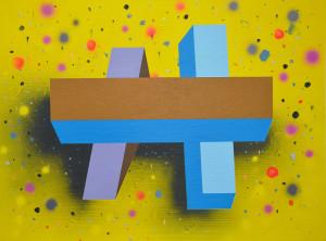 Andre Stitt --BB--'Hold The Light' acrylic on canvas, 75x100cm 2019 copy