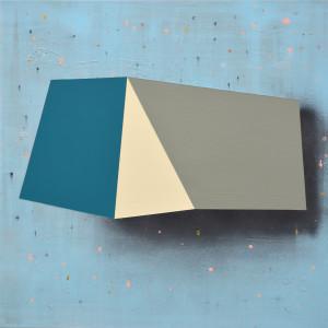 Andre Stitt 'Good Friday ll ' acrylic on canvas, 85x85cm, 2019 copy