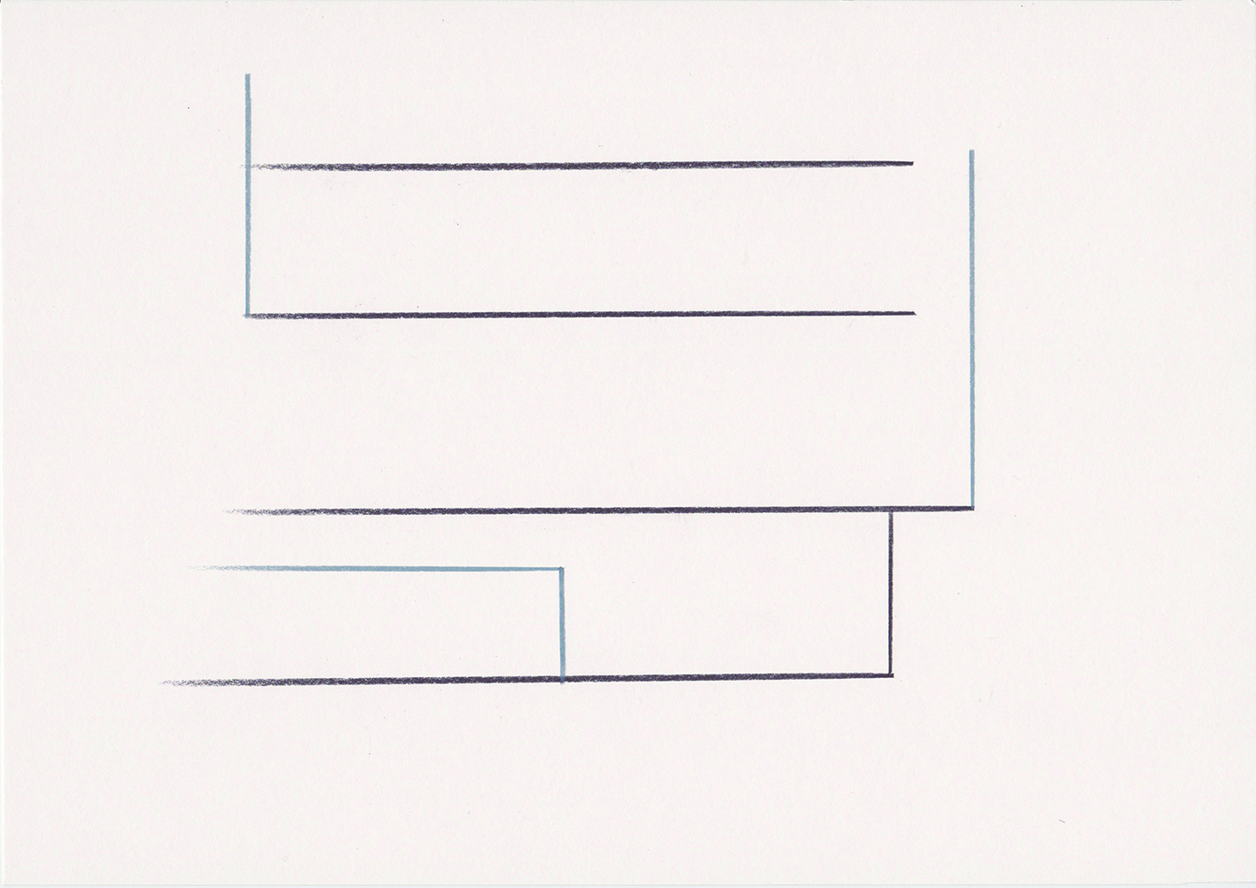 stitt 'Harmony Heights Vlll' pencil on paper, 21x30cm 2016