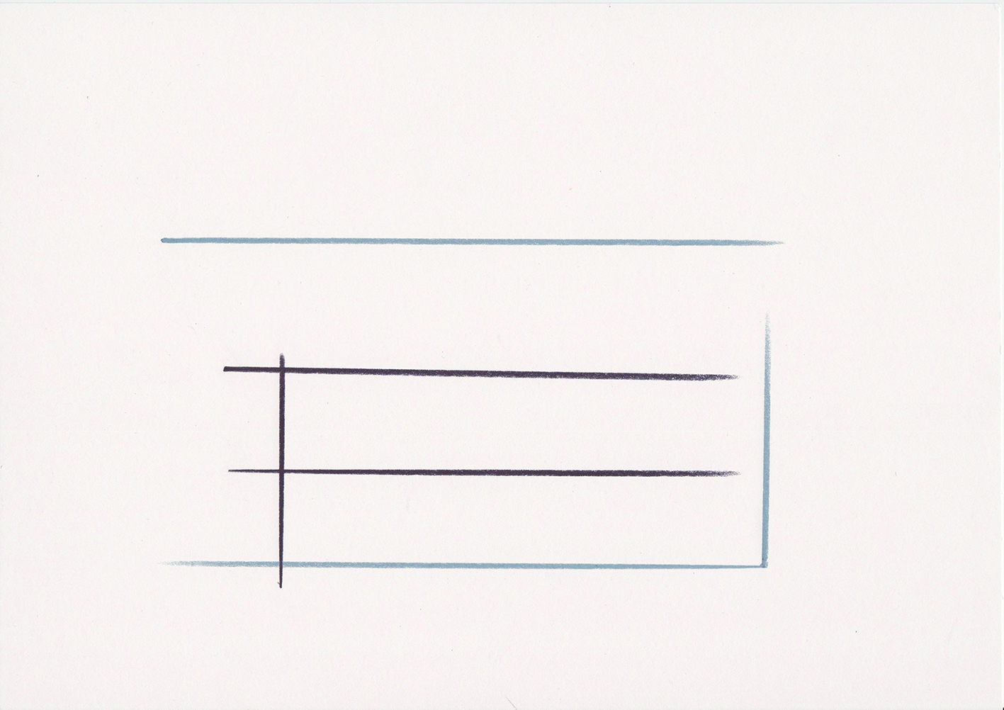 stitt 'Harmony Heights Xl' pencil on paper, 21x30cm 2016