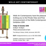 WAC : Wells Art Contemporary 6th-26th Oct 2018