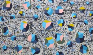 Andre Stitt 'Lockdown' acrylic on canvas, 190x300cm, 2020 copy