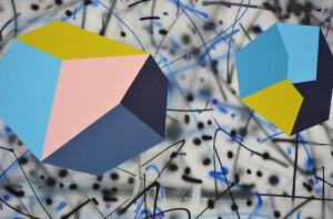 Andre Stitt 'Lockdown' (detail 10) 2020 acrylic on canvas, 190x300cm copy
